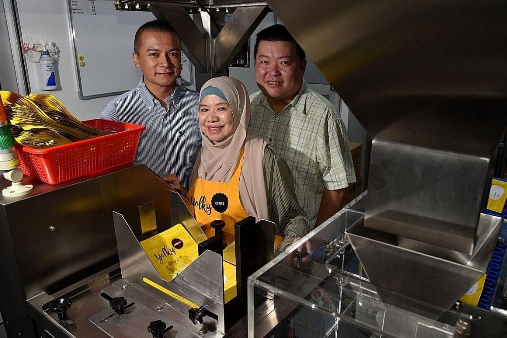 Mesin automatik permudah kerja pekerja berusia
