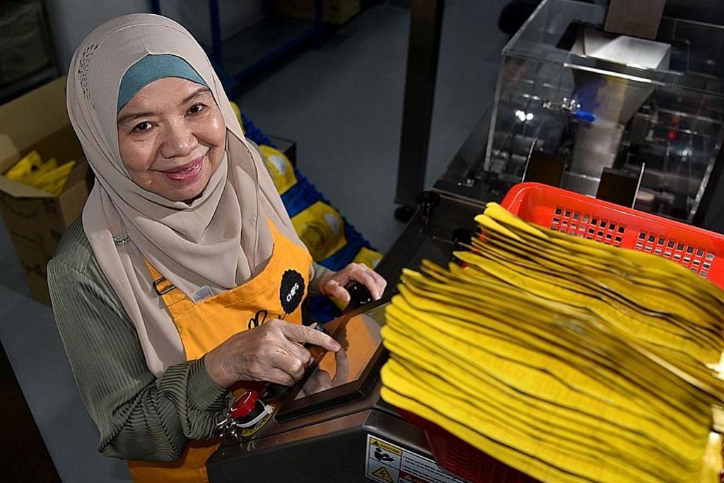 Dorongan positif bagi pekerja matang, kurang upaya