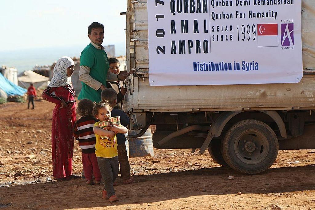 Daging korban dikirim ke serata dunia bantu mangsa bencana alam, konflik