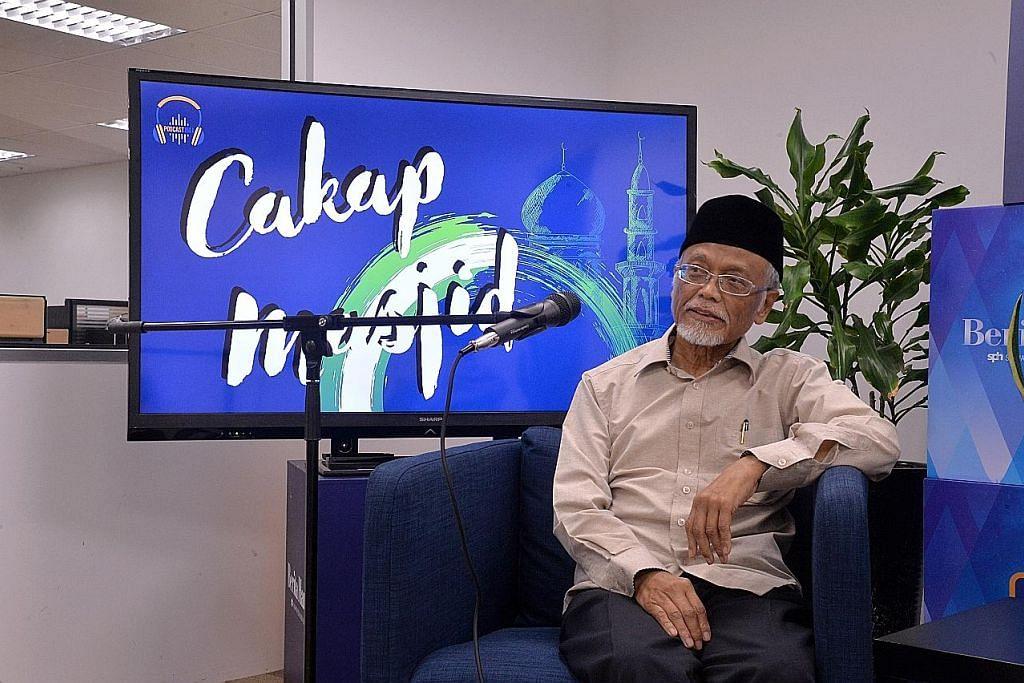Ustaz Pasuni kongsi ilmu, pengalaman dalam 'Cakap Masjid'