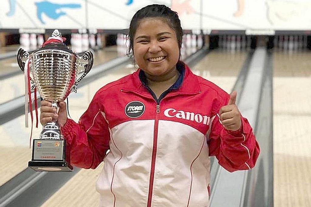 Iliya, pemain bowling S'pura juara Terbuka Hongkong