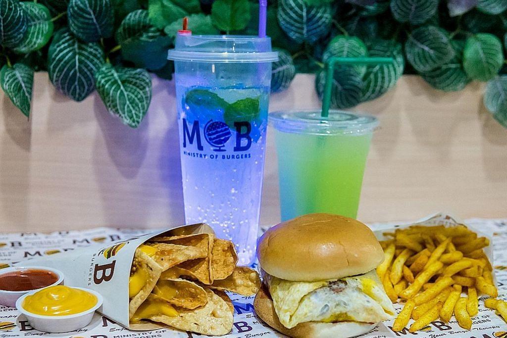 EKONOMI Mahu pelanggan nikmati pelbagai jenis burger