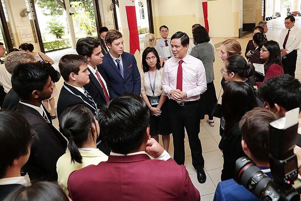 Chun Sing: Keadaan masa depan bergantung pada pilihan generasi muda hari ini