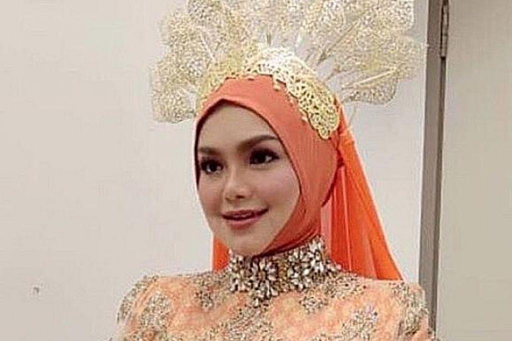 Siti Nurhaliza wanita paling dikagumi di M'sia: Kajian YouGov