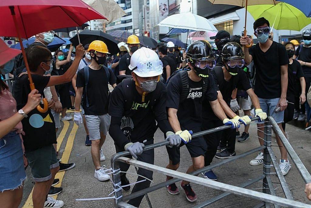 Gejolak Hongkong masuk minggu ke-8