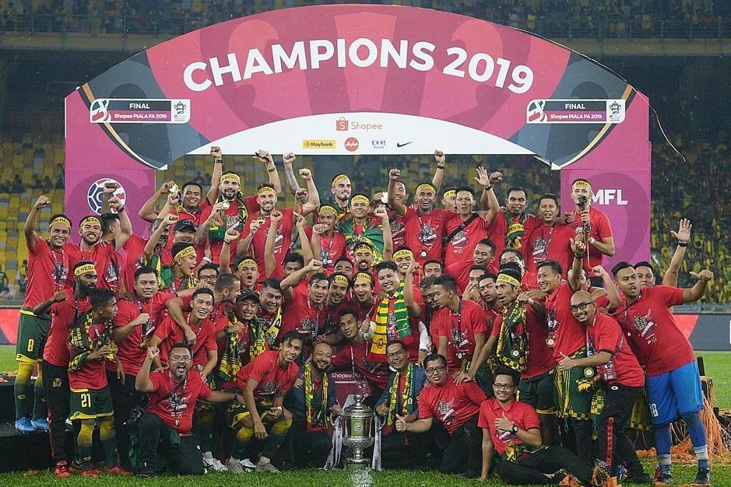 Jurulatih S'pura terajui Kedah jadi juara Piala FA Malaysia