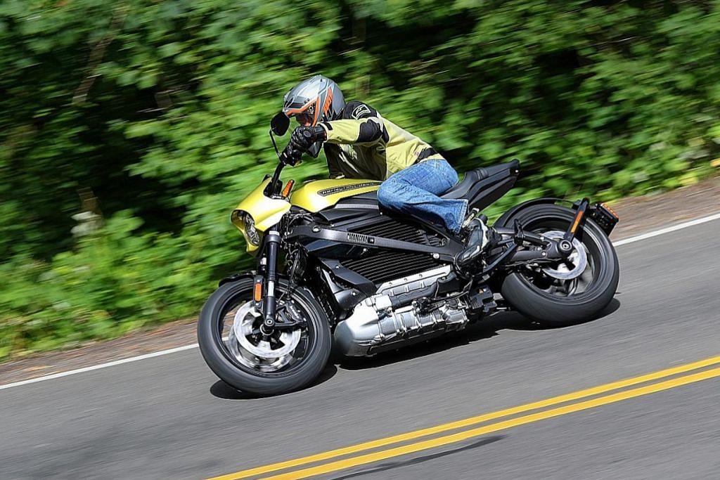 Motosikal elektrik Harley-Davidson pertama mantap, senyap dan meluncur laju