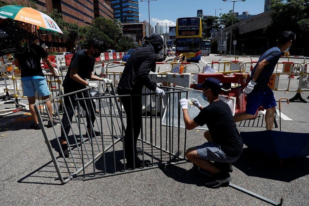 Sistem rel, penerbangan di HK terjejas akibat bantahan
