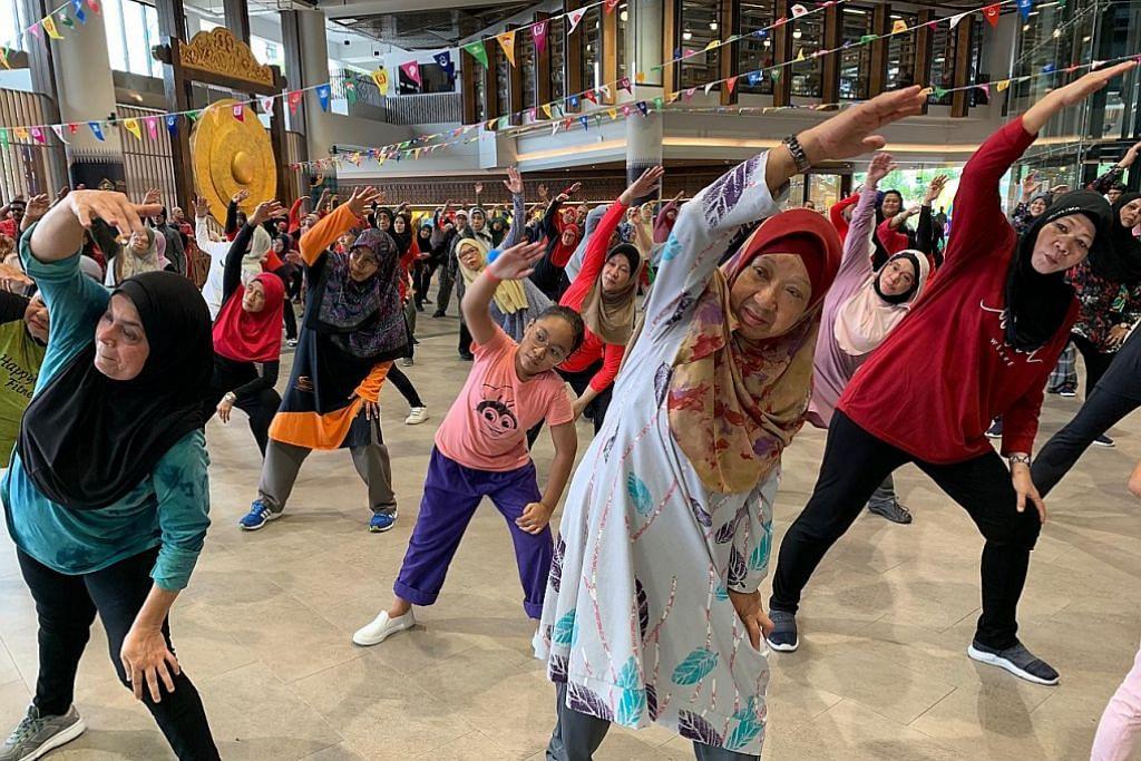 Fiesta Kesihatan di Wisma Geylang Serai pikat lebih 400 pengunjung