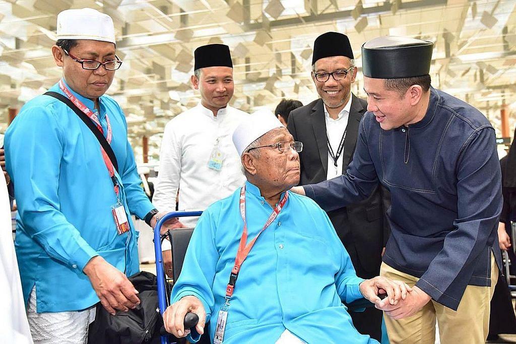 Kumpulan terbesar jemaah SG berangkat tunai haji
