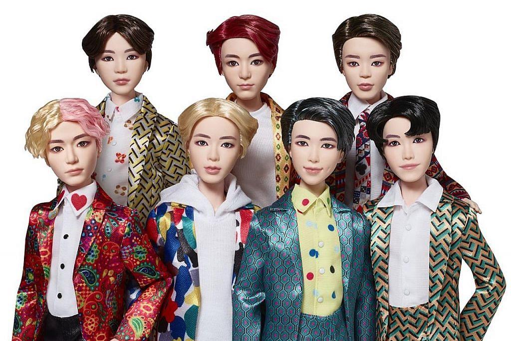 Boneka BTS mula dijual 15 Ogos