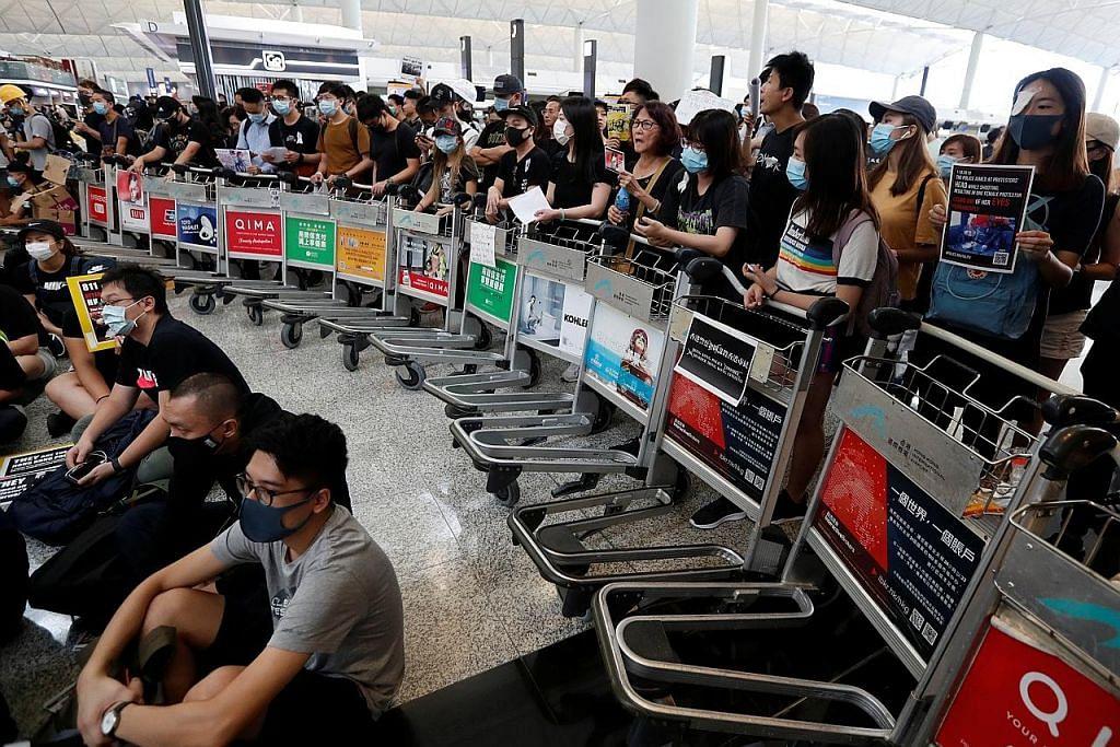 PERGOLAKAN POLITIK DI HONG KONG Kemelut berterusan... rakyat, pemerintah terus sengketa