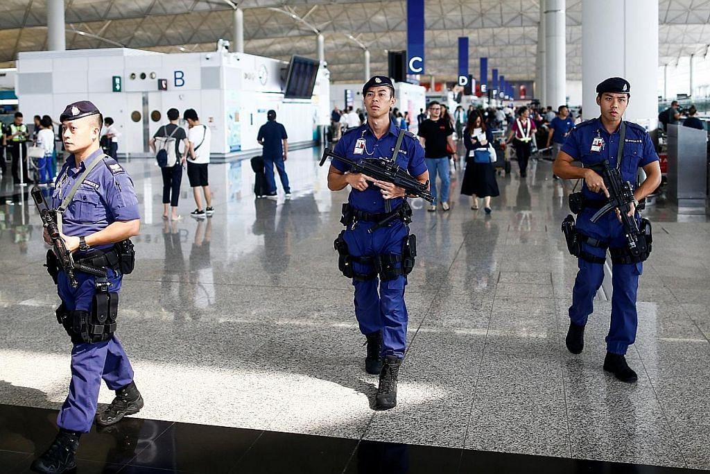 Jadual penerbangan HK kembali pulih