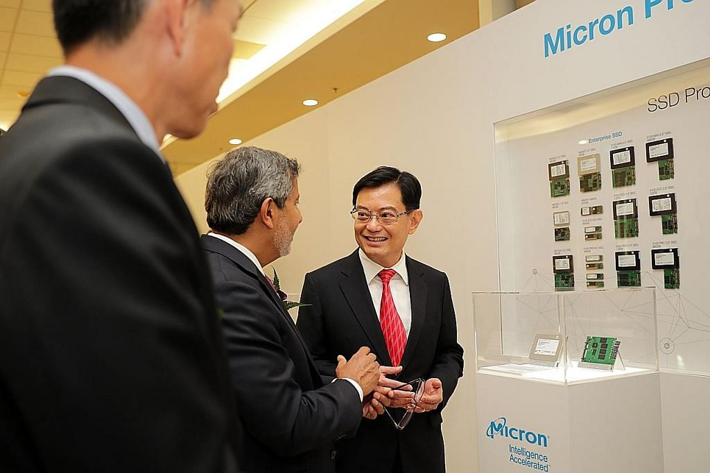 DPM Heng: Pelaburan Micron isyarat keyakinan atas asas jangka panjang S'pura
