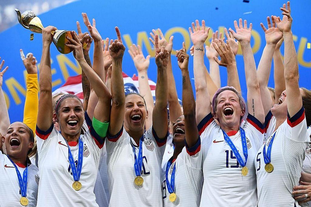 Pasukan bola sepak wanita Amerika bawa kes diskriminasi ke mahkamah