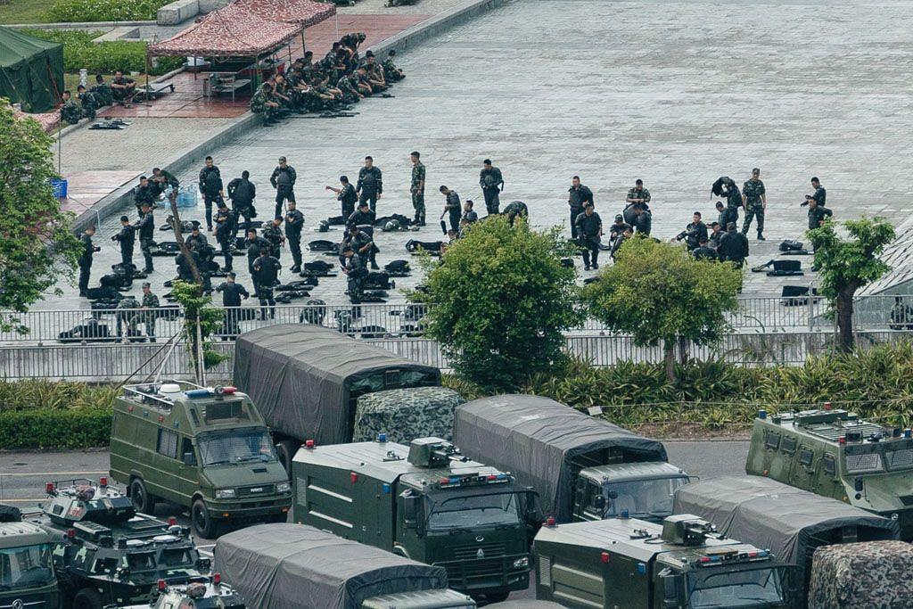 China punyai pilihan untuk 'campur tangan secara paksa' di Hongkong