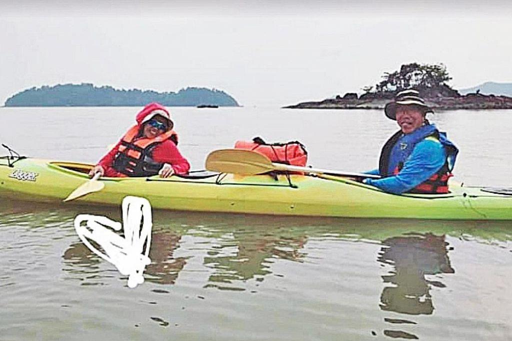 PENDAYUNG KAYAK SINGAPURA HILANG DI MERSING Gerakan cari seorang lagi pendayung kayak S'pura dihentikan