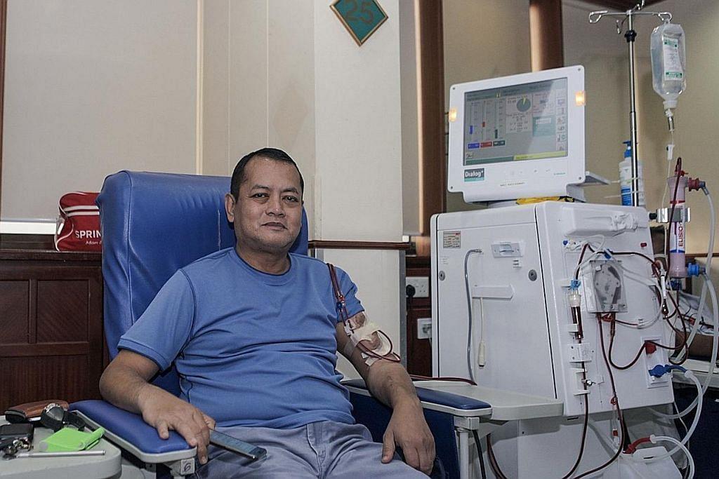 624 jam setahun duduk di kerusi dialisis gara-gara sakit ginjal