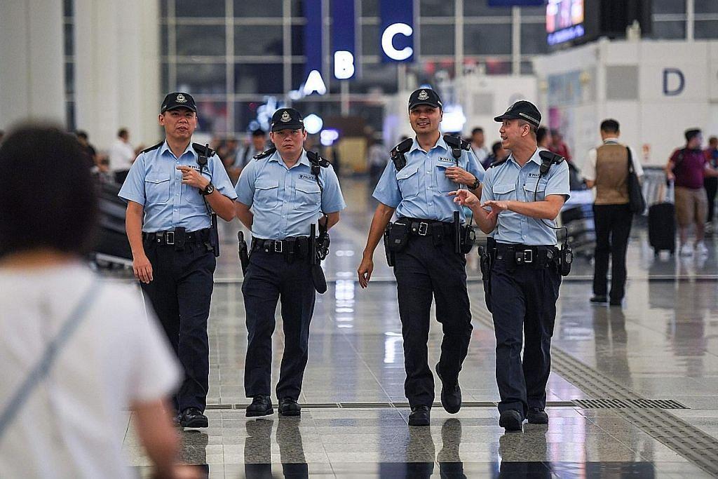 Lapangan terbang HK jadi sasaran penunjuk perasaan teruskan demo