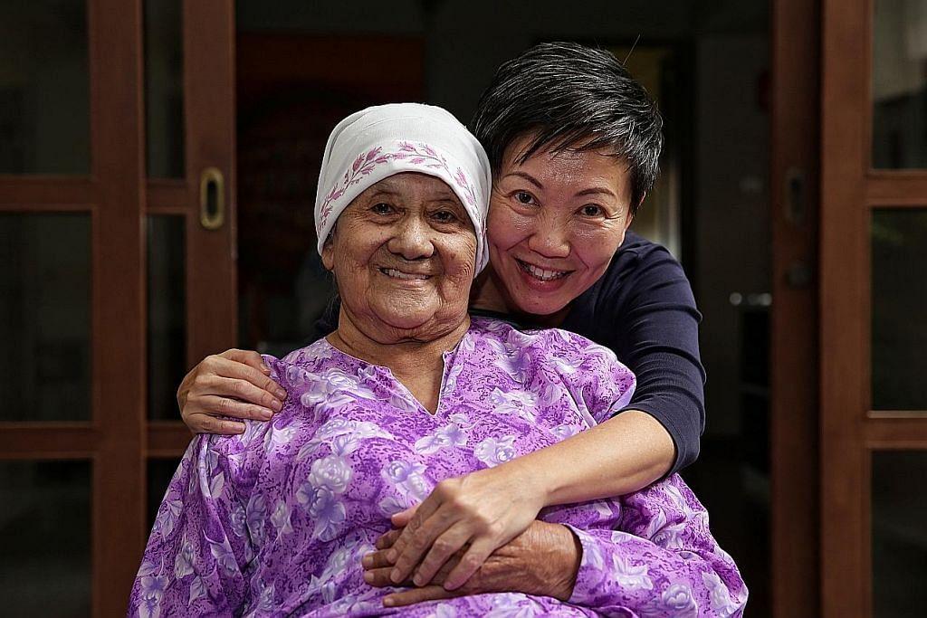 Jaga ibu sakit demensia bak kenali orang baru