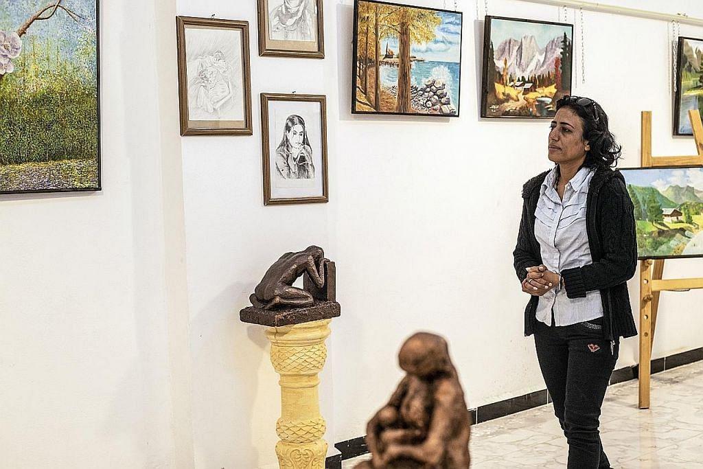 Seni di Syria rancak semula lepas ISIS undur