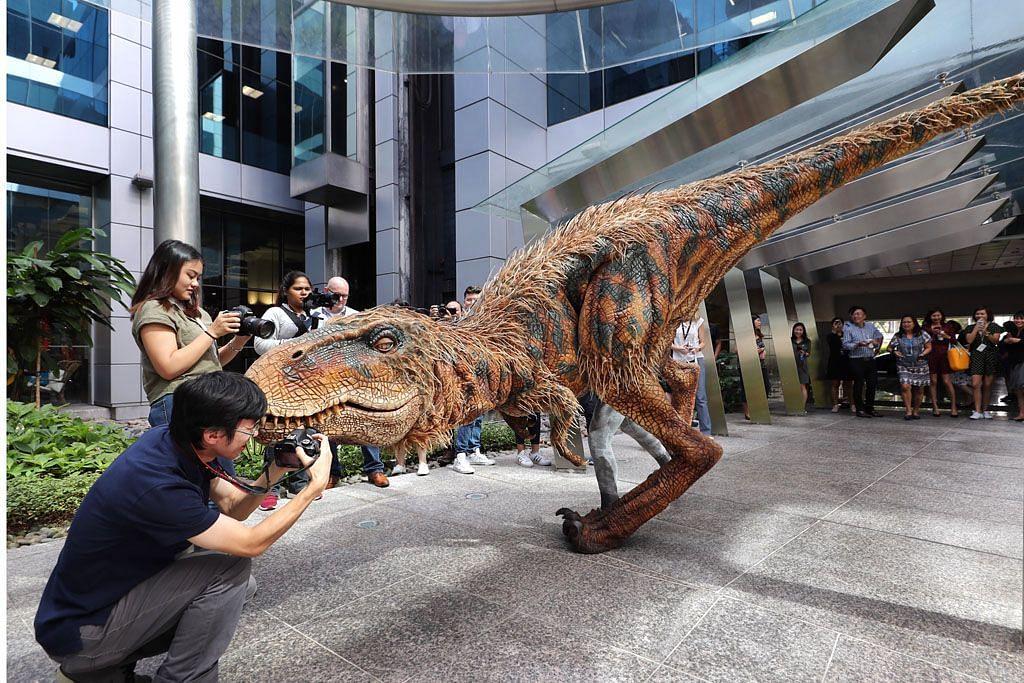 Peluang 'lihat' dinosaur di depan mata