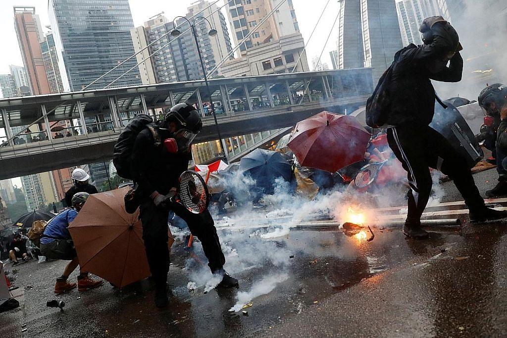 Bantahan di Hongkong kembali jadi ganas