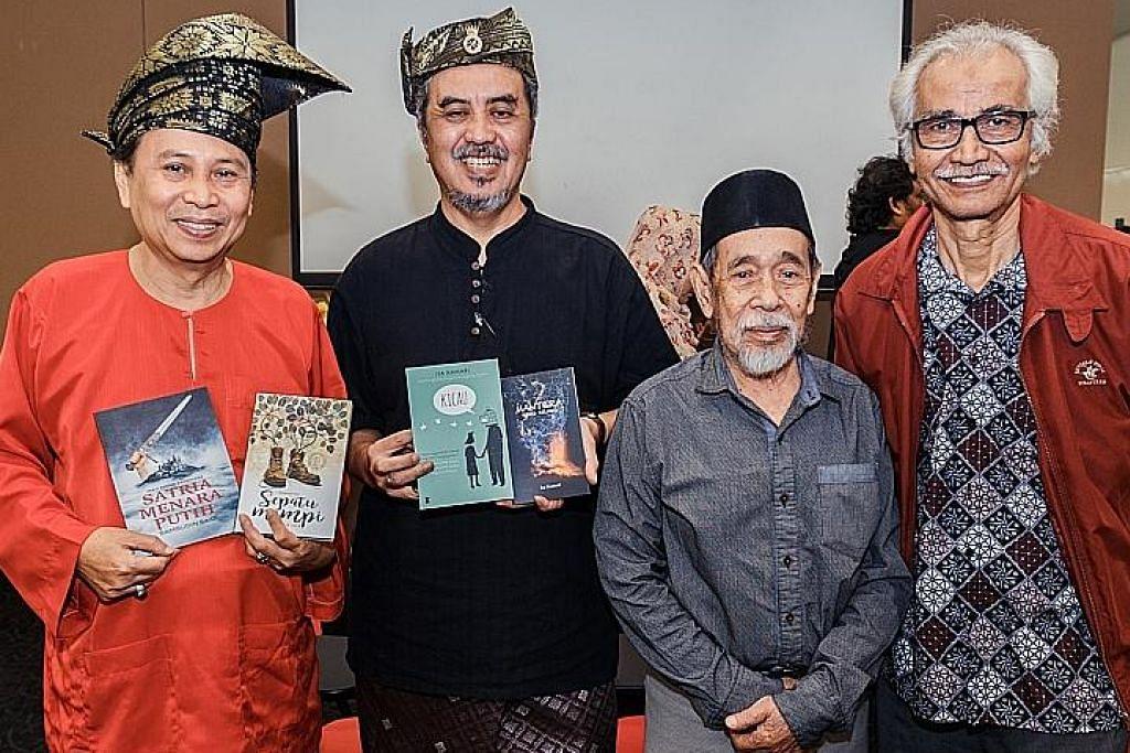 Majlis pelancaran buku beberapa penulis mapan setempat