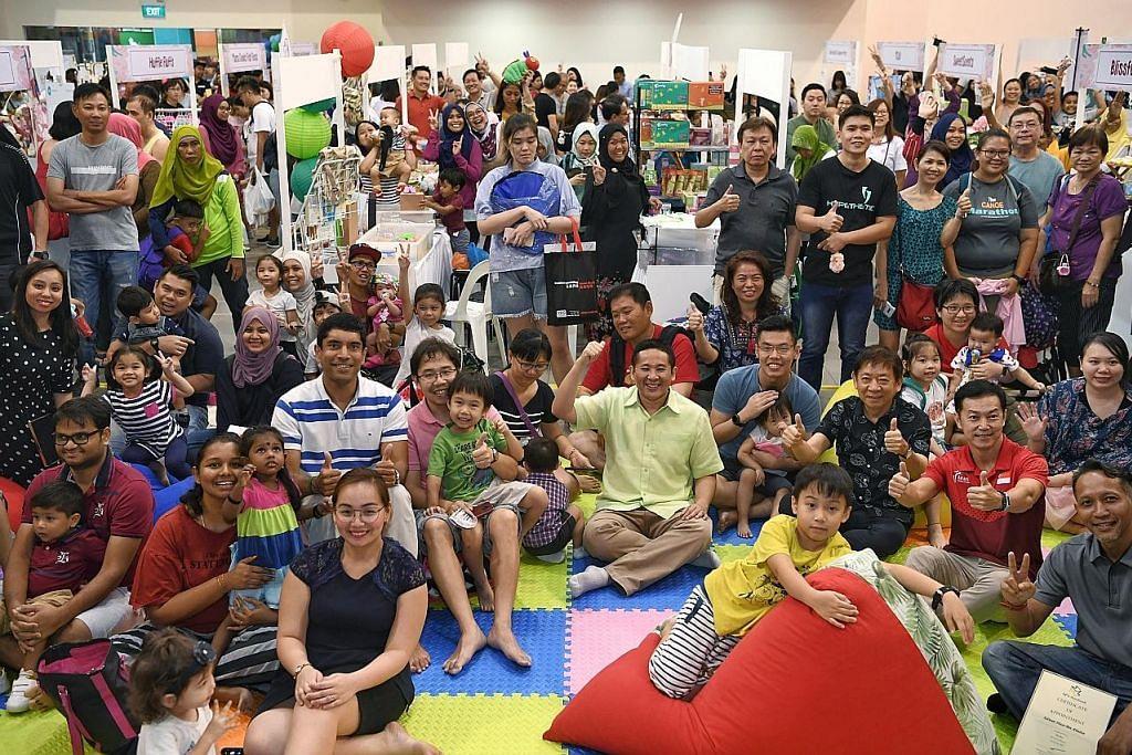 3K - Kewangan, Kesihatan dan Keluarga - dapat tumpuan M3@Woodlands