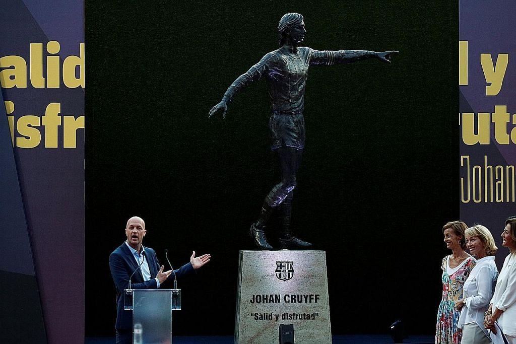 PERSONALITI SUKAN Anak Johan Cruyff cakap tentang bapa, Man U, Barca dan...