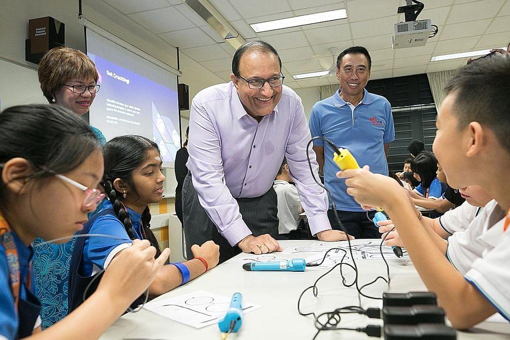 Pelajar sertai 'misi' Marikh tingkat kemahiran digital