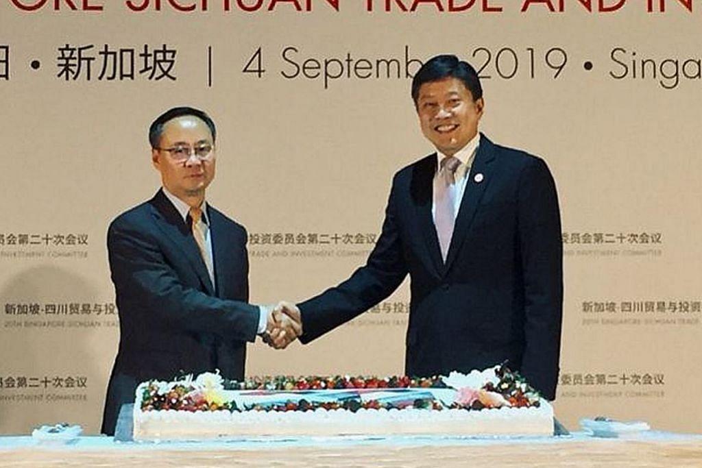 Dagang S'pura-Sichuan naik 42.8% meski ekonomi tidak menentu: Chee Meng