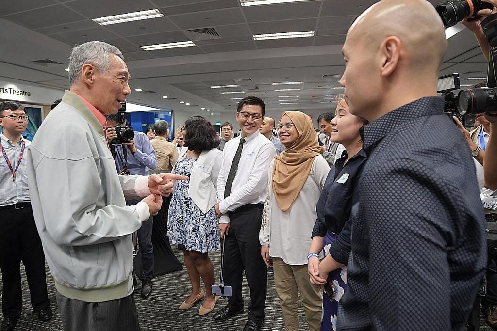 Rancang masa depan, terus jaga kepentingan jangka pendek: PM Lee