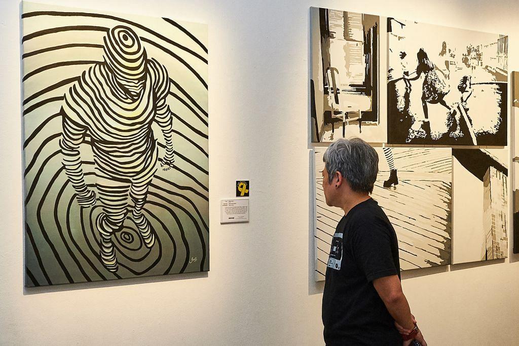 Pameran seni, puisi dihasilkan banduan di Sekolah Seni S'pura