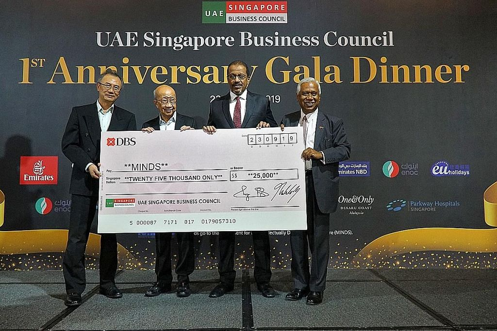 Majlis niaga UAE kumpul $35,000 untuk Minds