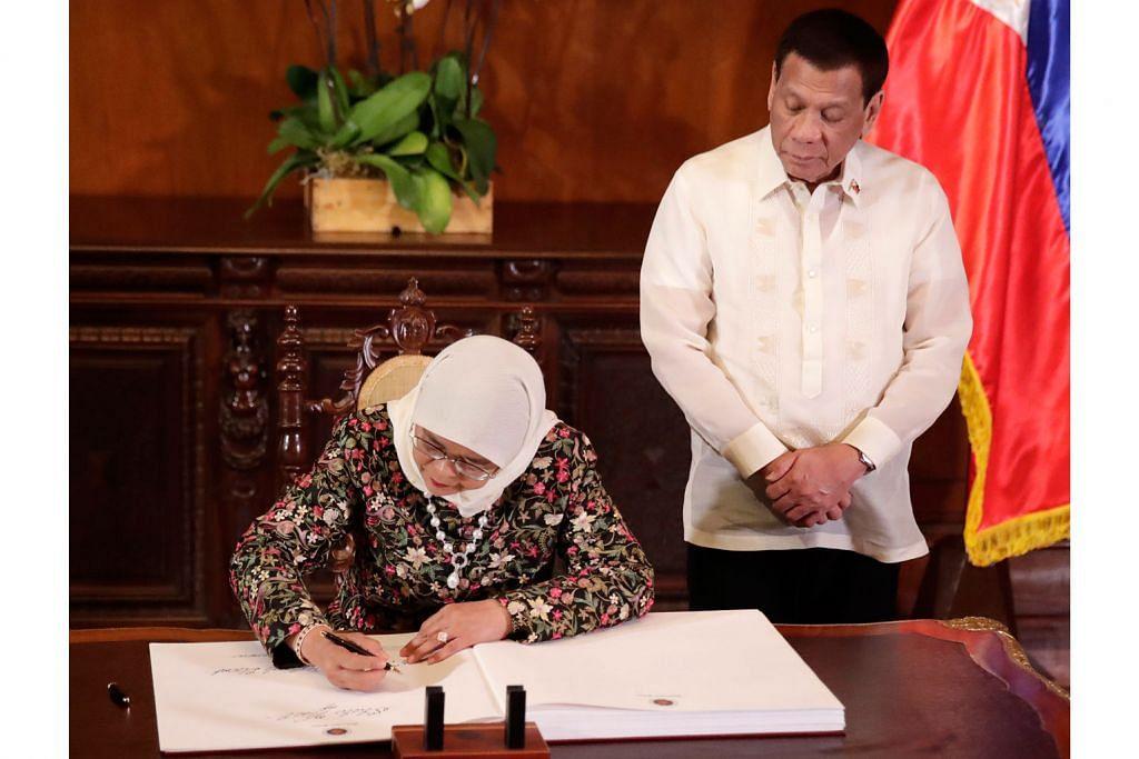 S'pura, Filipina teroka kerjasama dua hala pelbagai bidang baru