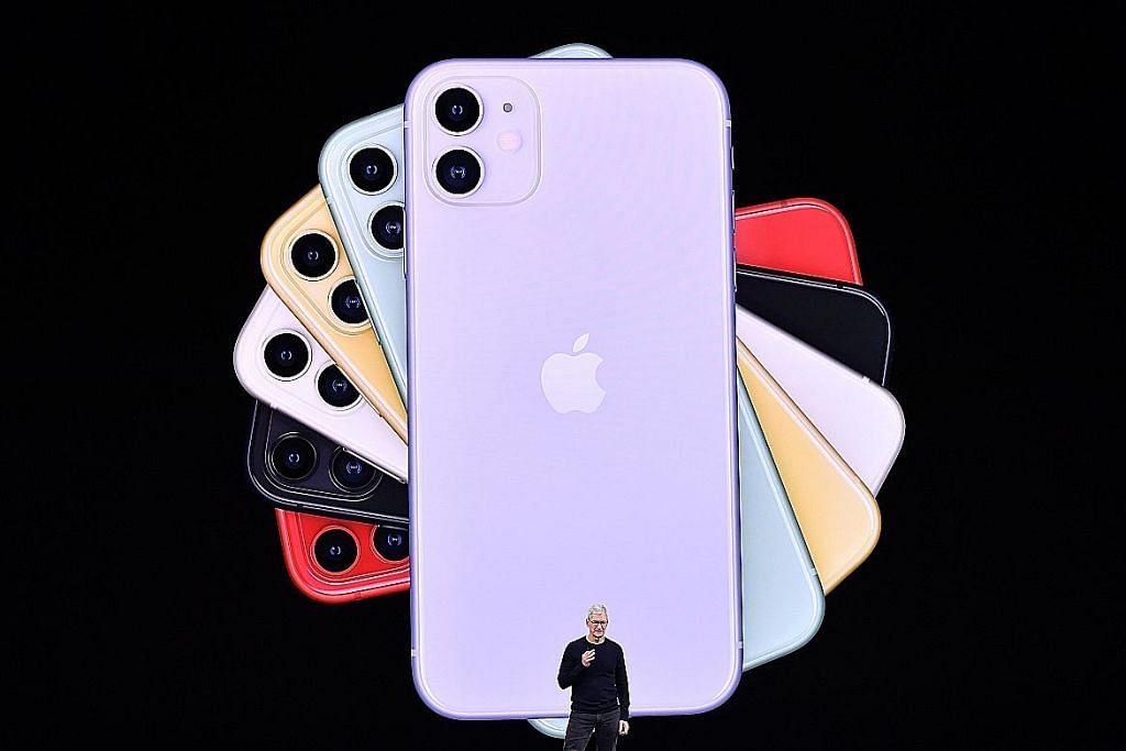 Apple perkenal 3 model peranti telefon pintar baru