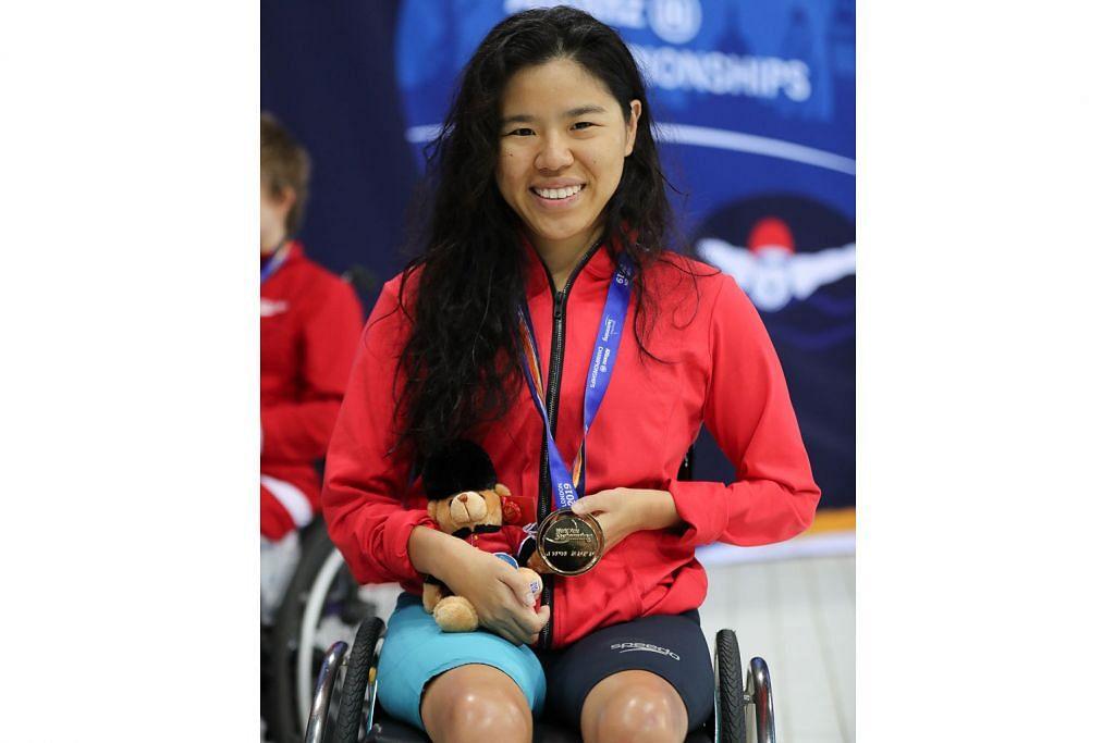 Yip Pin Xiu rangkul emas dalam kejohanan renang dunia