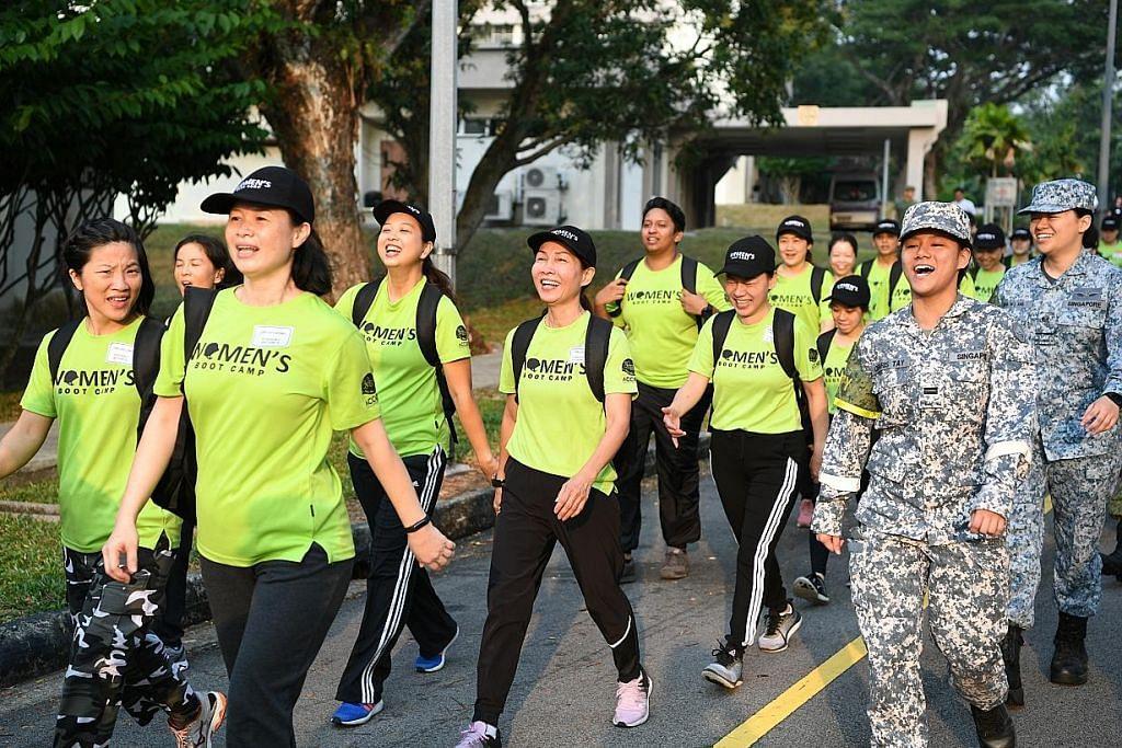 100 wanita sertai kem untuk 'rasa' cara hidup NS