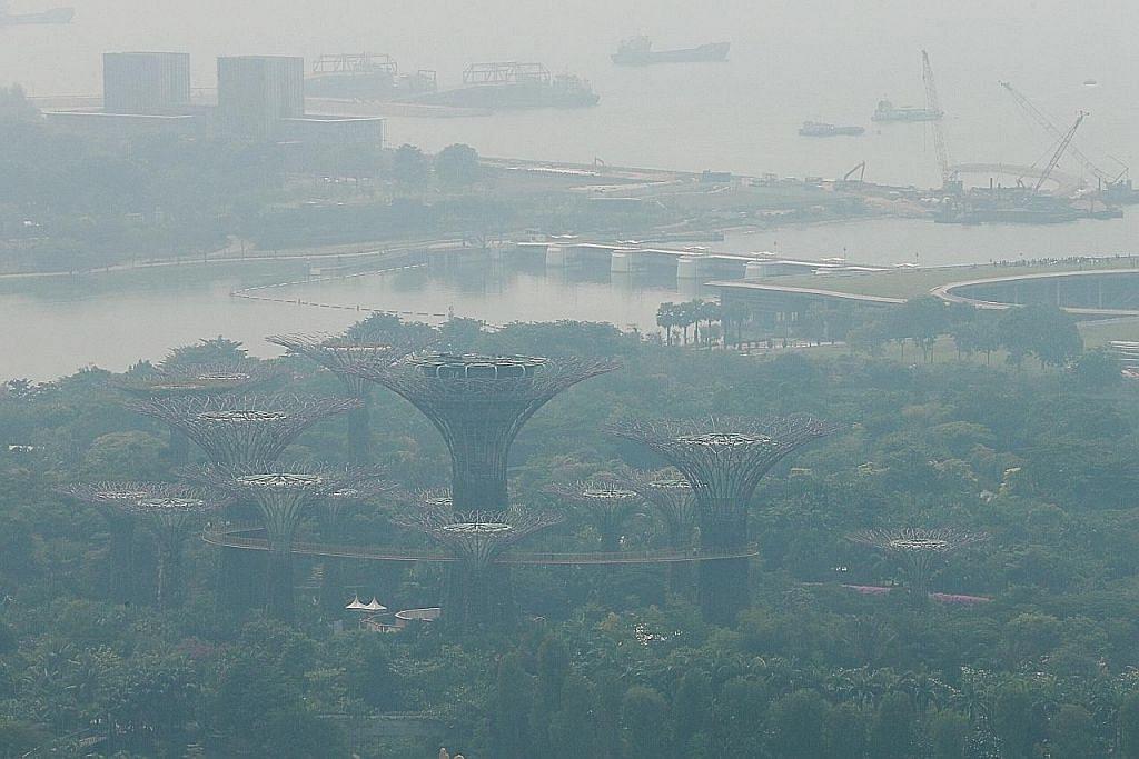 Mutu udara hampiri paras tidak sihat, jerebu kelihatan semakin buruk