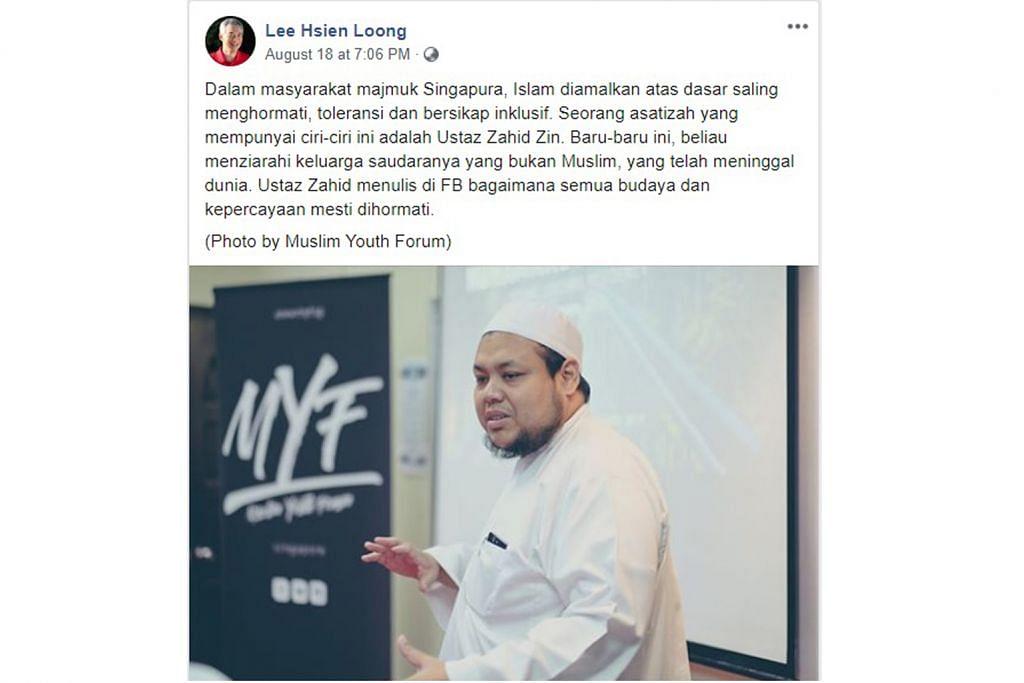 Cinta pada tanah air dorong Ustaz Zahid tabur bakti