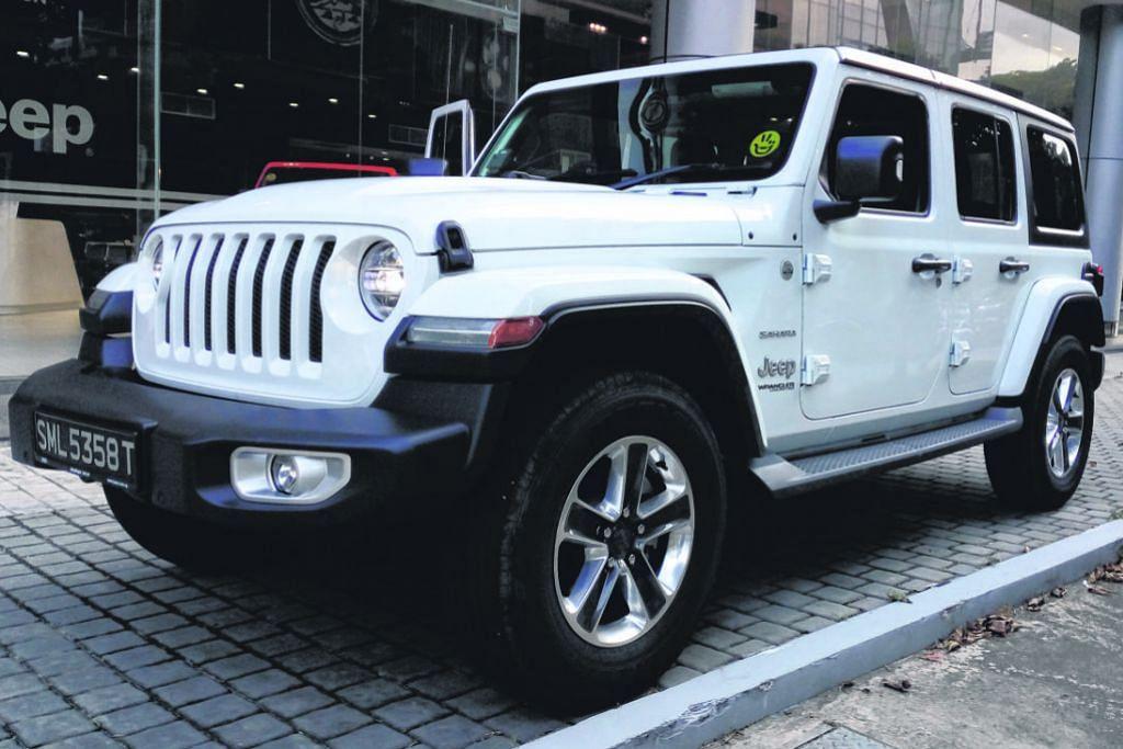 Jeep lasak untuk desa, selesa untuk bandar