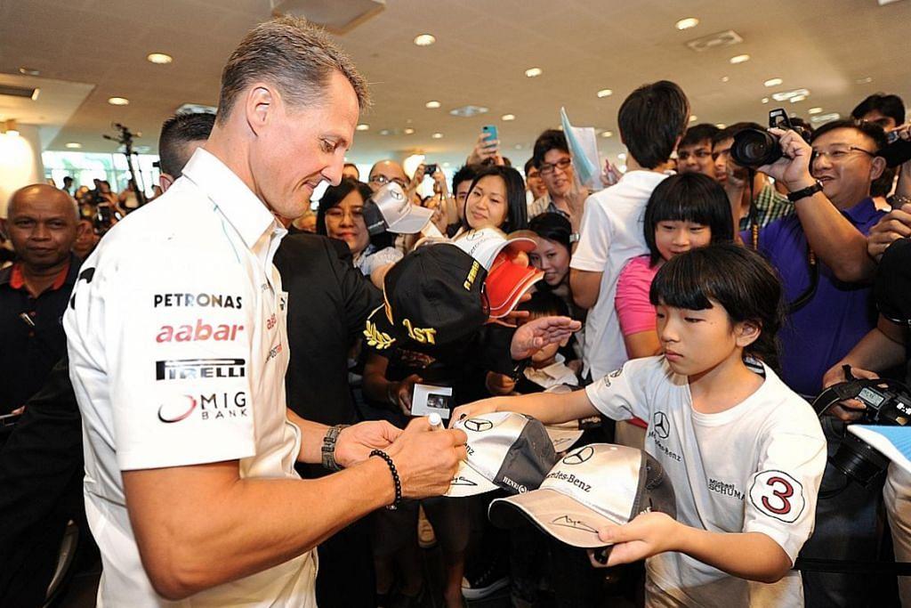 Laporan sebut Schumacher jalani rawatan terapi sel stem canggih