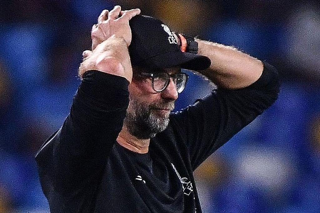 LIGA JUARA-JUARA EROPAH Klopp kecewa Liverpool cuai bolehkan Napoli menang di saat akhir
