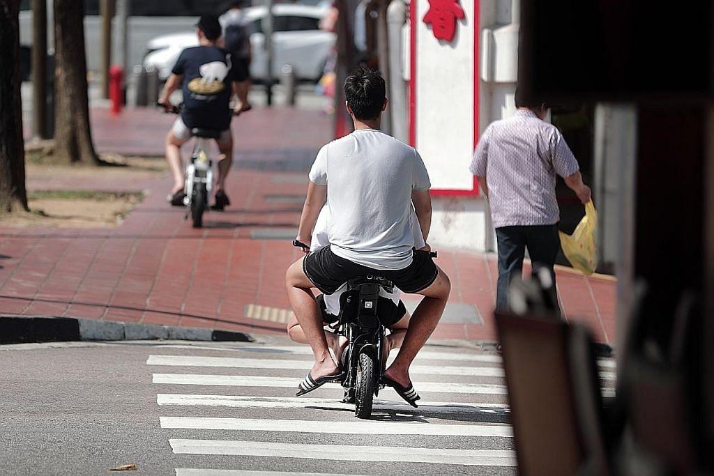 Pemilik PMD diberi insentif $100 'buang e-skuter' bahaya