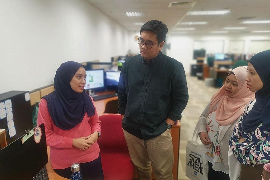 Tetamu dari Brunei kunjungi BH