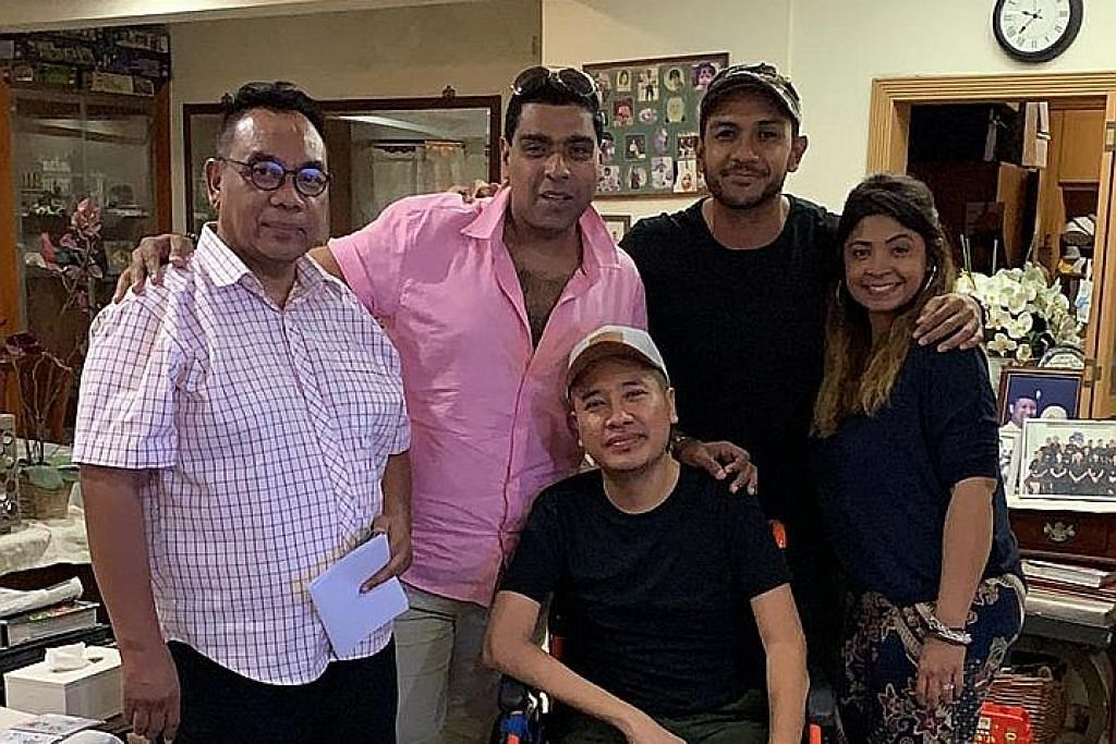 Bersatu kumpul dana bantu Riz Sunawan