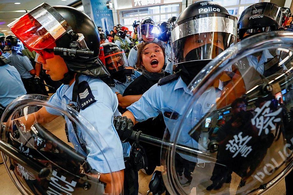 Senat AS lulus rang sokong penunjuk perasaan HK