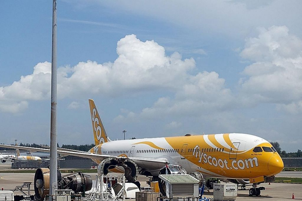 Scoot dinobat pesawat bajet terbaik Asia Tenggara