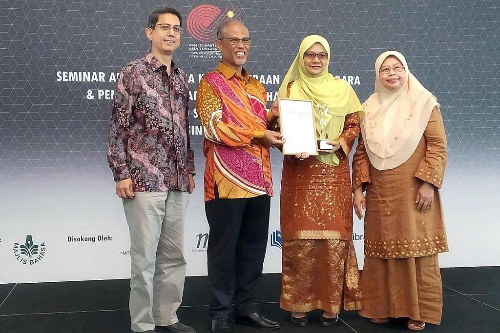 Majlis Bahasa anjur peraduan ketengah, iktiraf karya terjemahan